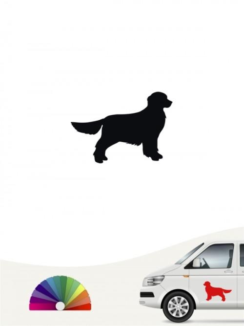 Hunde-Autoaufkleber Golden Retriever 1b Mini von Anfalas.de