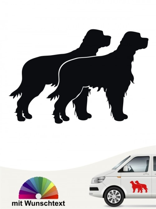 Gordon Setter Silhouette Sticker anfalas.de