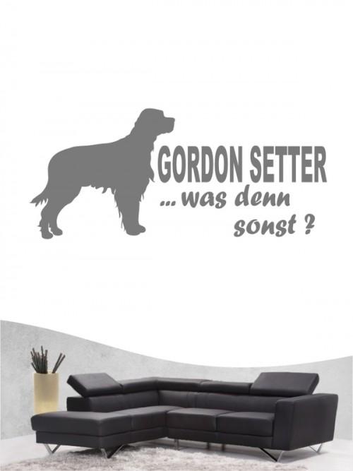 Gordon Setter 7 Wandtattoo