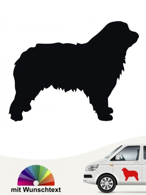 Hunde-Autoaufkleber Gos d'Atura Català 1 von Anfalas.de