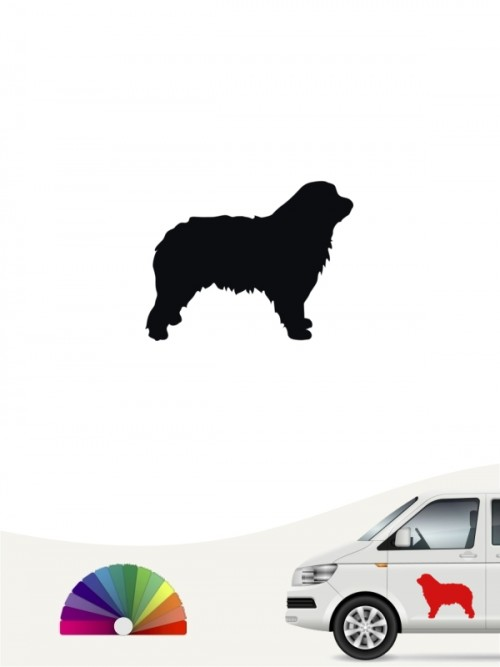 Hunde-Autoaufkleber Gos d'Atura Català 1 Mini von Anfalas.de