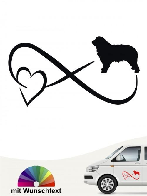 Hunde-Autoaufkleber Gos d'Atura Català 40 von Anfalas.de