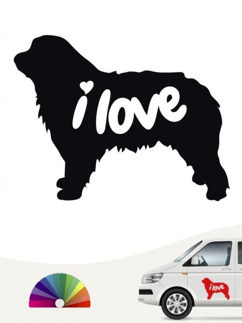 Hunde-Autoaufkleber Gos d'Atura Català 43 von Anfalas.de