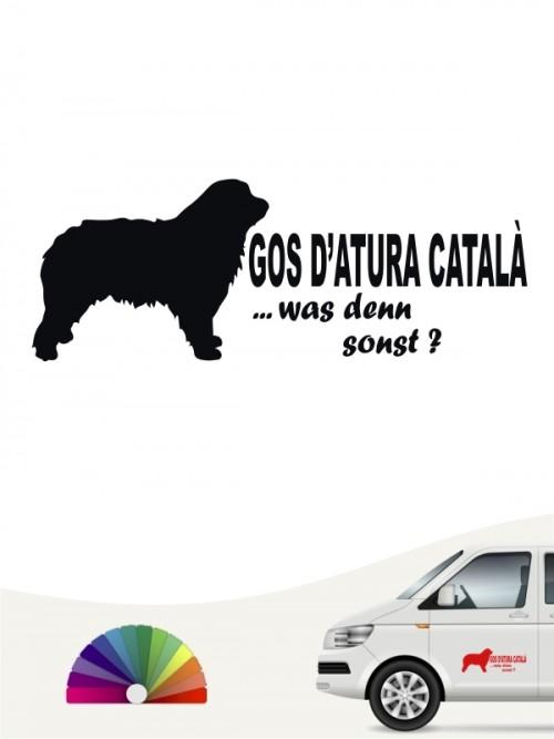 Hunde-Autoaufkleber Gos d'Atura Català 7 von Anfalas.de