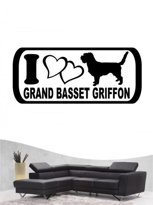 Grand Basset Griffon 6 - Wandtattoo