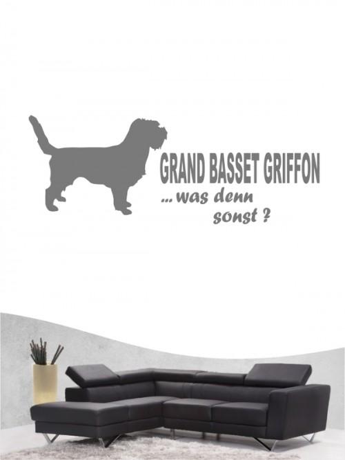 Grand Basset Griffon 7 - Wandtattoo