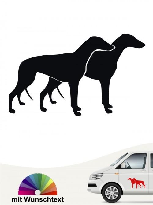 Hunde-Autoaufkleber Greyhound 2 von Anfalas.de