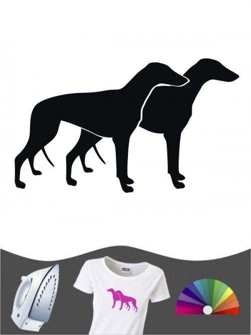 Greyhound 2 - Bügelbild