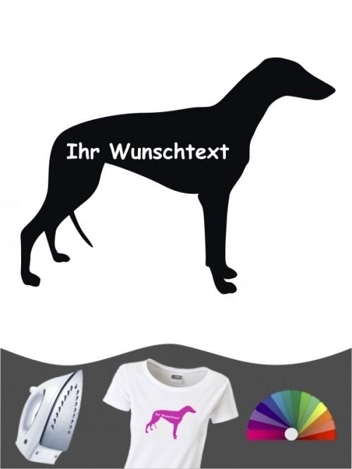 Greyhound 3 - Bügelbild