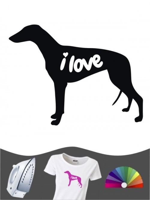 Greyhound 43 - Bügelbild