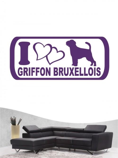 Griffon Bruxellois 6 - Wandtattoo