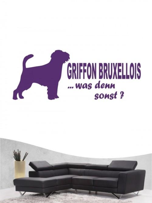 Griffon Bruxellois 7 - Wandtattoo