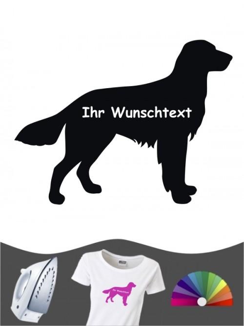 Großer Münsterländer 3a - Bügelbild