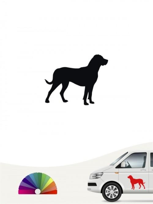 Grosser Schweizer Sennenhund Heckscheibenaufkleber von anfalas.de