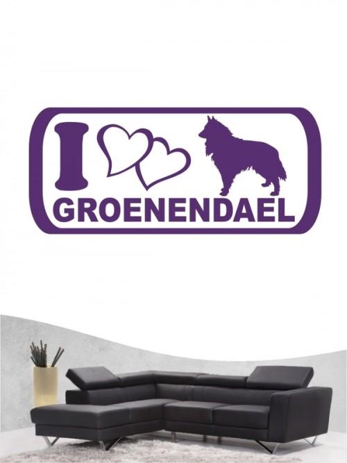 Groenendael 6 Wandtattoo