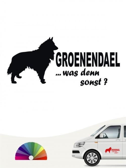 Groenendael was denn sonst Sticker von anfalas.de