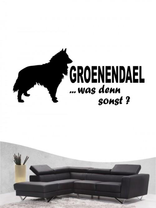 Groenendael 7 Wandtattoo
