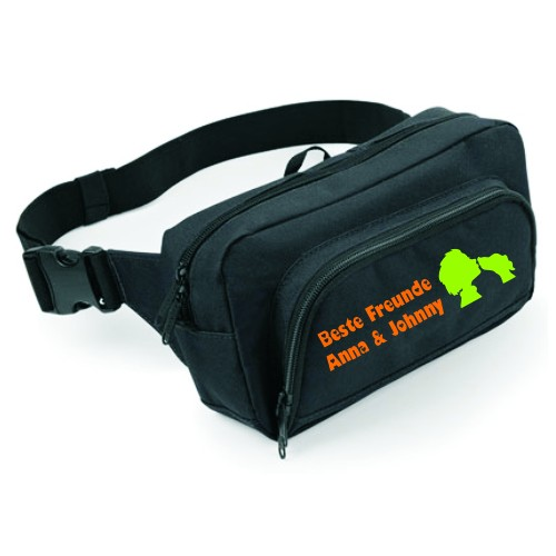 Hüfttasche mit Beste Freunde Motiv von anfalas.de