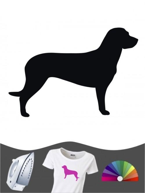 Hannoverscher Schweißhund 1 - Bügelbild