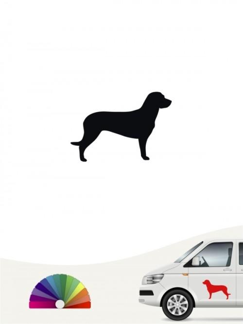 Hunde-Autoaufkleber Hannoverscher Schweißhund 1 Mini von Anfalas.de