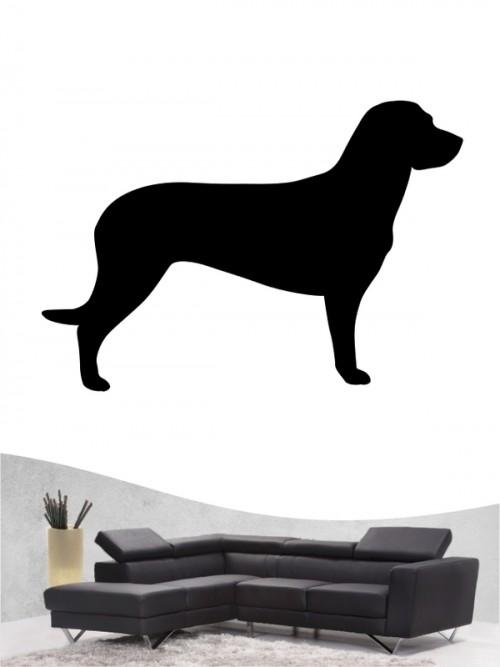 Hannoverscher Schweißhund 1 - Wandtattoo
