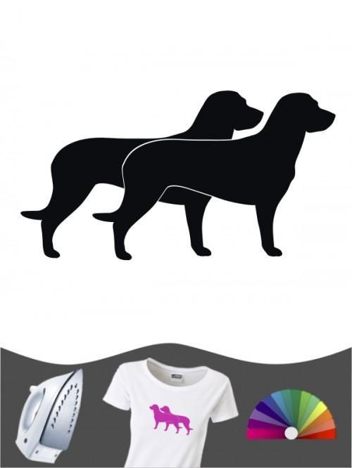 Hannoverscher Schweißhund 2 - Bügelbild