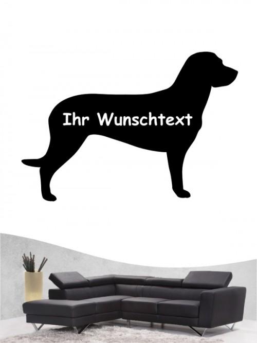 Hannoverscher Schweißhund 3 - Wandtattoo