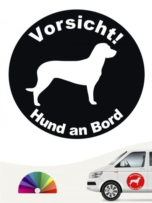 Hannoverscher Schweißhund Aufkleber von anfalas.de