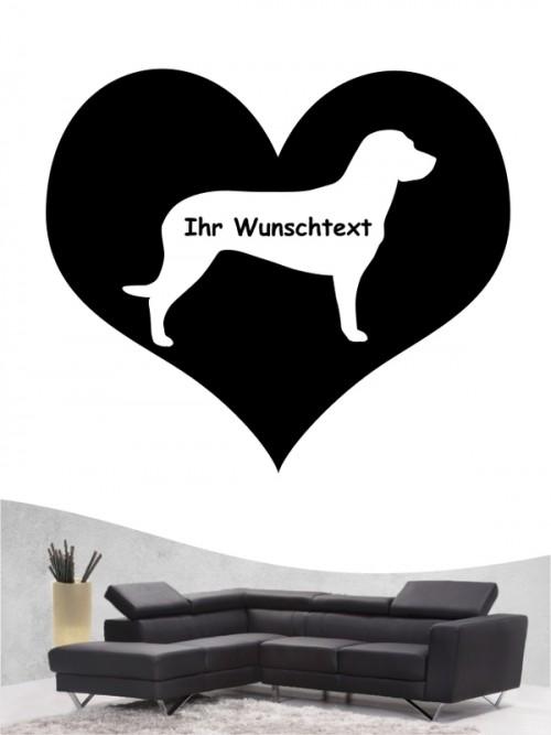 Hannoverscher Schweißhund 4 - Wandtattoo