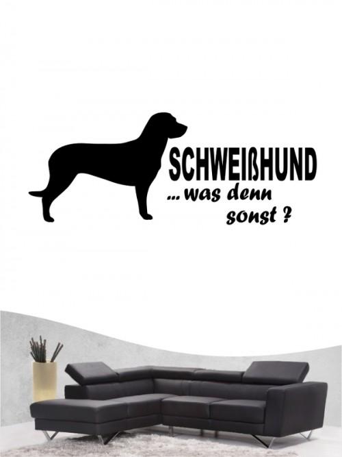 Hannoverscher Schweißhund 7 - Wandtattoo