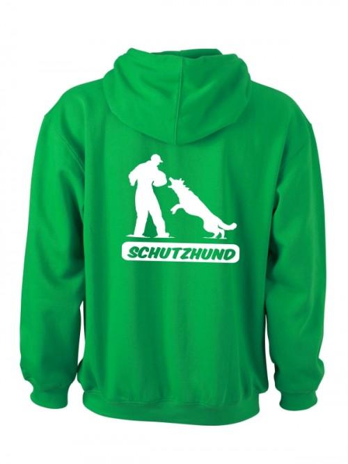 Herren Kapuzen-Sweatshirt mit Hundesport-Motiv Anfalas.de 2