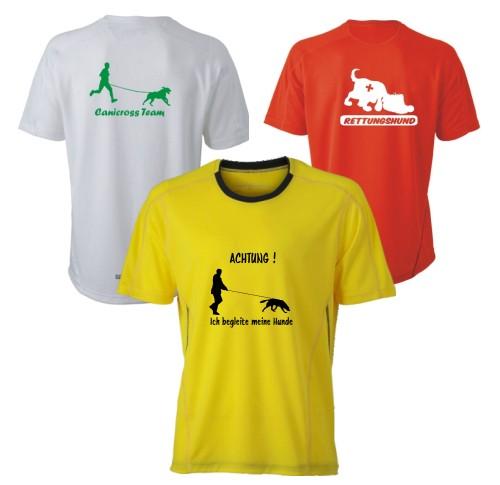 Herren Running T-Shirt mit Wunschmotiv & Wunschtext
