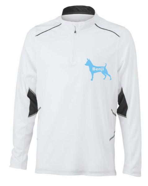 Herren Running Langarm Shirt  mit Prager Rattler Motiv von anfalas.de