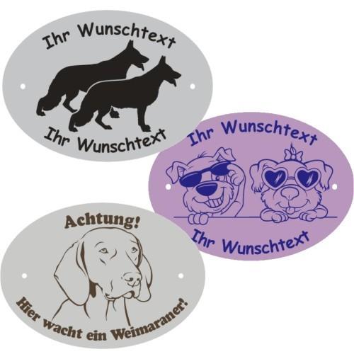 Hundeschild selbst gestalten anfalas.de
