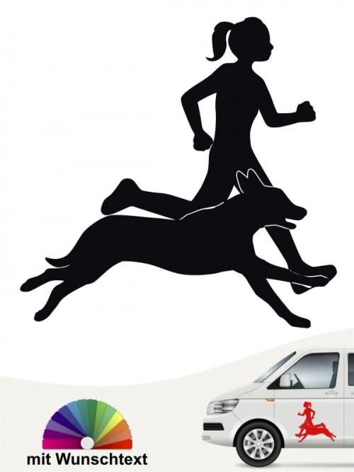 Hunde Sport Aufkleber von anfalas.de