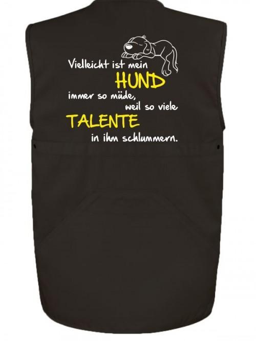 Hundesport Weste Talente