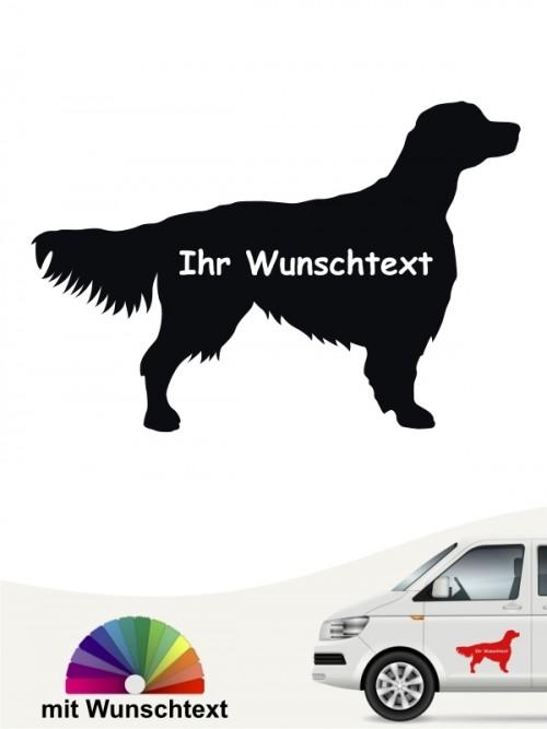 Hunde-Autoaufkleber Irish Red & White Setter 3 von Anfalas.de
