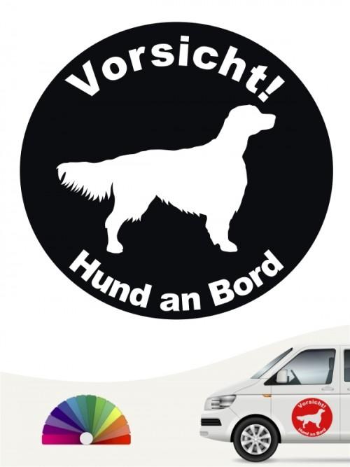 Hunde-Autoaufkleber Irish Red & White Setter 42 von Anfalas.de