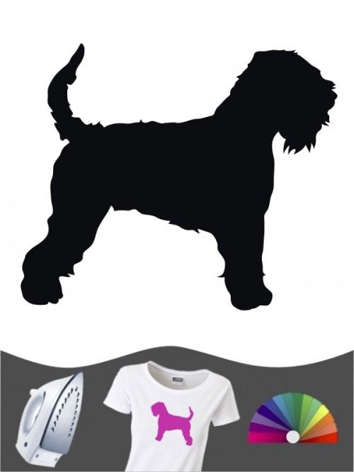 Irish Soft Coated Wheaten Terrier 1 Bügelbild