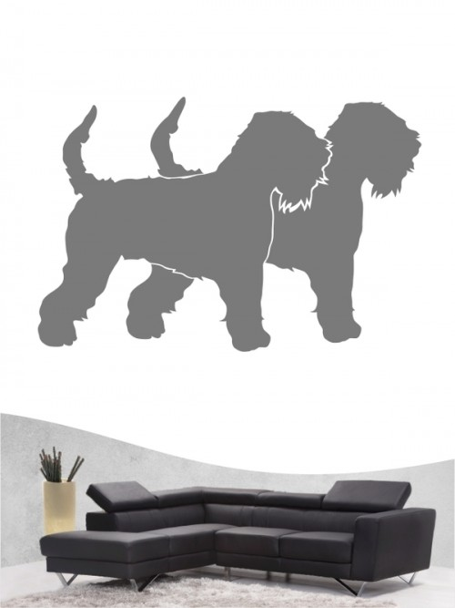 Irish Soft Coated Wheaten Terrier 2 - Wandtattoo