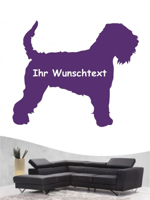 Irish Soft Coated Wheaten Terrier 3 - Wandtattoo