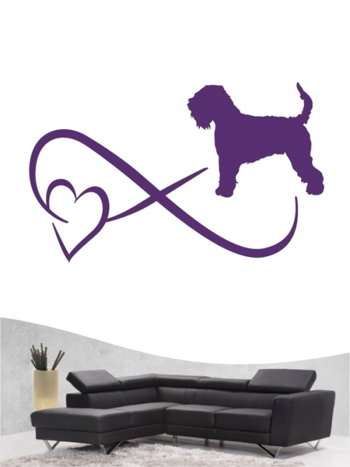 Irish Soft Coated Wheaten Terrier 40 - Wandtattoo