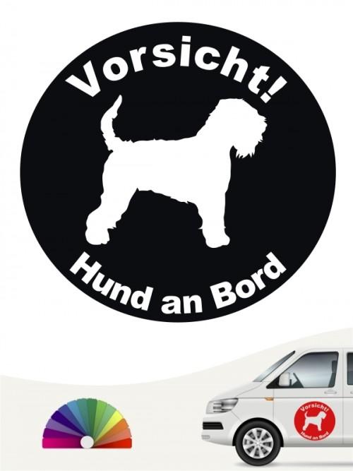 Irish Soft Coated Wheaten Terrier Aufkleber von anfalas.de