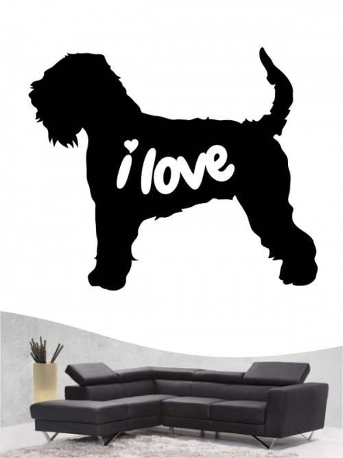 Irish Soft Coated Wheaten Terrier 43 - Wandtattoo