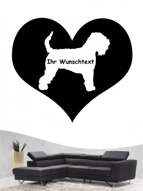Irish Soft Coated Wheaten Terrier 4 - Wandtattoo