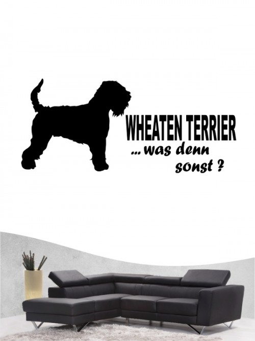 Irish Soft Coated Wheaten Terrier 7 - Wandtattoo