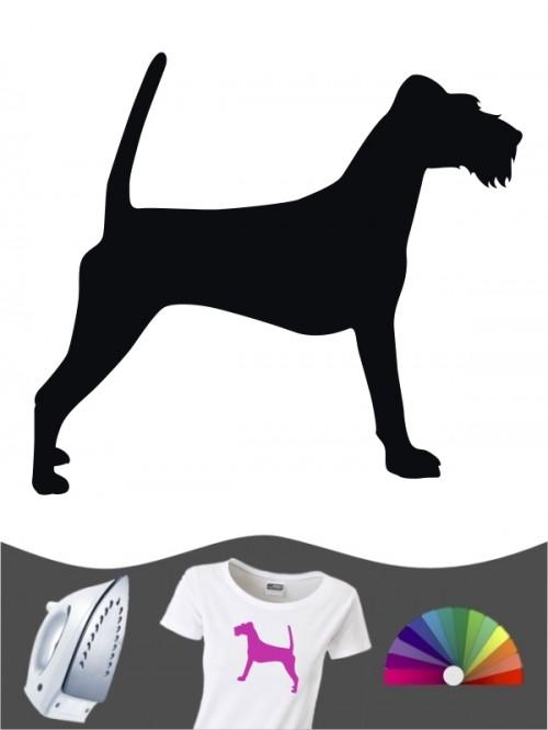 Irish Terrier 1 Bügelbild