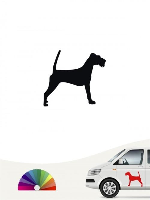Hunde-Autoaufkleber Irish Terrier 1 Mini von Anfalas.de