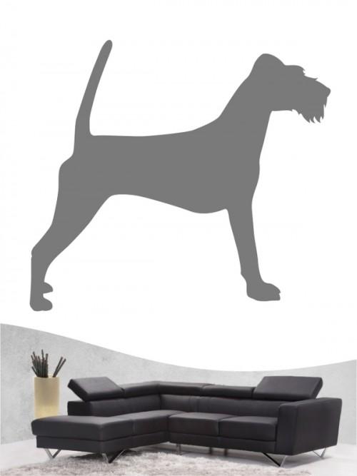 Irish Terrier 1 - Wandtattoo