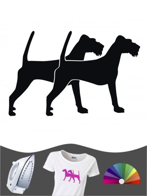 Irish Terrier 2 Bügelbild